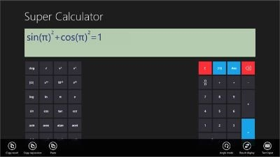 Super Calculator téléchargé