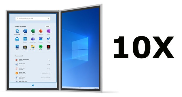 Windows 10X et les applications Win32