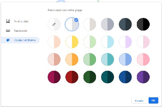 thème Chrome