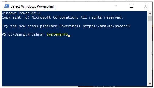 hyper v windows 10 Windows Powershell (admin)