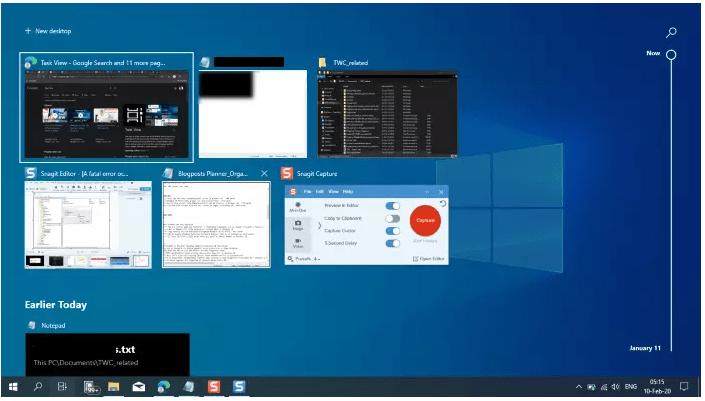créer un raccourci windows 10