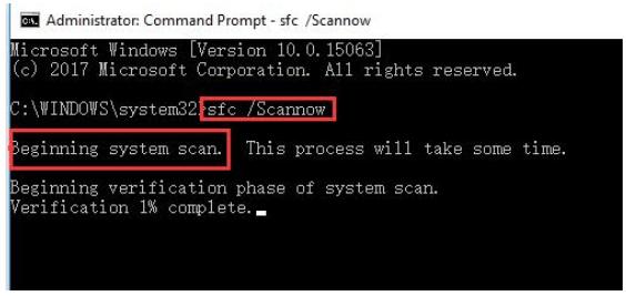 sfc/scannow Msvbvm50.dll Missing