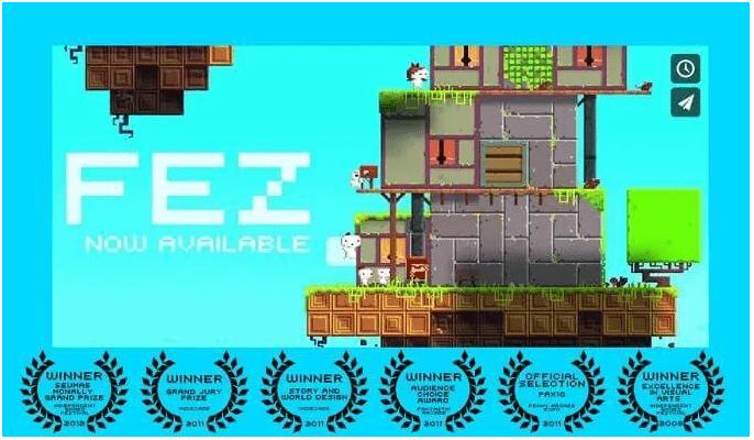 jeux Fez -Top 10 Jeux Vidéo