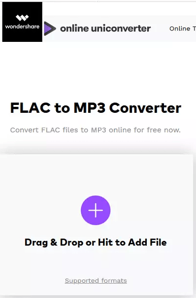 convertir flac en mp3