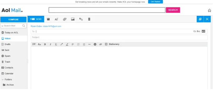 AOL Mail gratuit