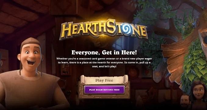 Hearthstone jeux pc gratuits