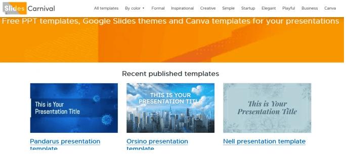 templates PowerPoint gratuits