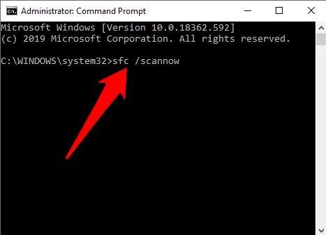réparer registre windows 10