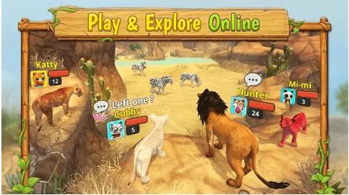 Jeux Lion Family Sim