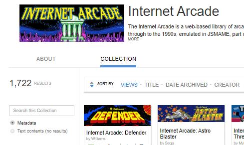 jeux vidéo année 80 90