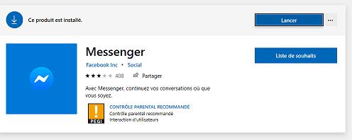 Messenger pour PC