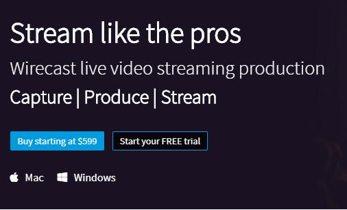 logiciel streaming