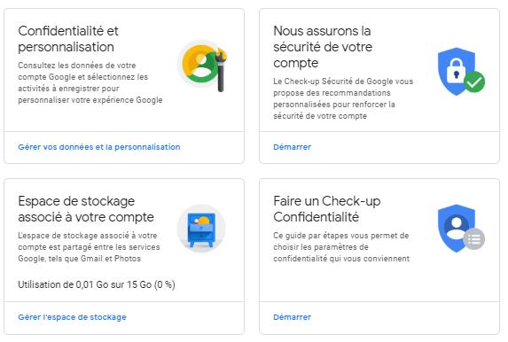 sécuriser compte Gmail