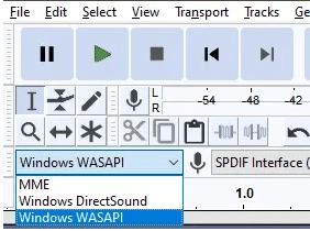 audacity windows 10