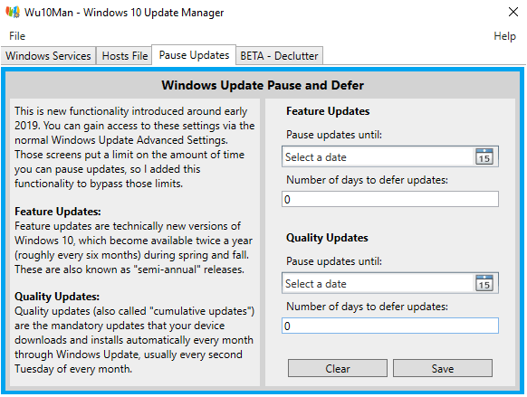 désactiver mise à jour windows 10