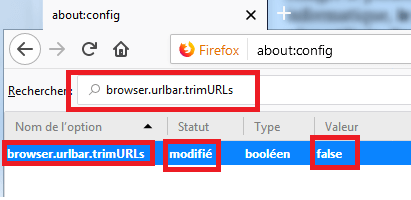 adresse complète Mozilla Firefox