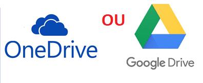 OneDrive Google Drive